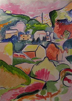 Autumn after Georges Braque by Nicholas Vermes