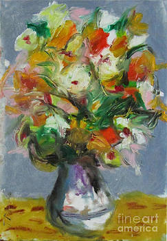 Autumn Flowers by David Abse