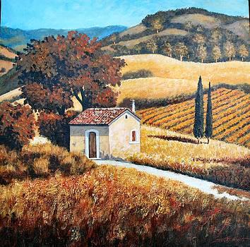 Autumn in Bagnoli by Santo De Vita