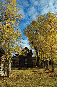 Autumn in Montana's Nevada City by Bruce Gourley