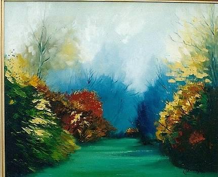 Autumn in Westonbirt by Isaura Campos