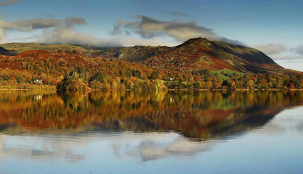 Autumn Reflections Grasmere by Stewart Smith
