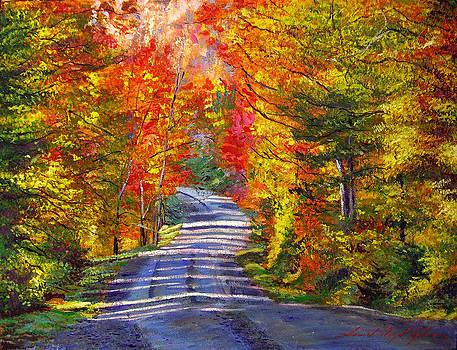 David Lloyd Glover - Autumn Roads
