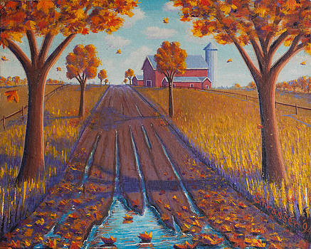 Autumnal Daydream by Frank Strasser