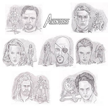 Chris  DelVecchio - Avengers Team