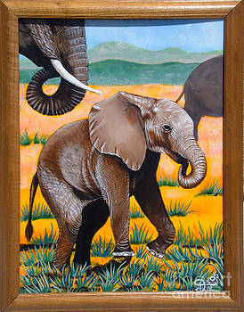 Baby Elephant by Annette Jimerson