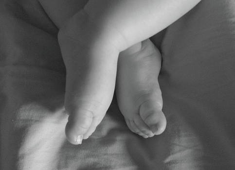 Baby Feet by Rhonda Jones