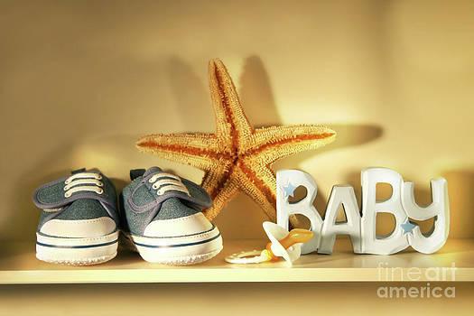 Sandra Cunningham - Baby shoes on the shelf