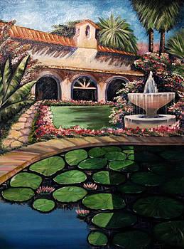 Backyard Fountain by Ann Iuen