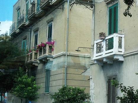 Balcony Friends by Sandy Collier