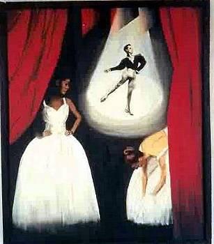 Ballet a trois by John Sowley