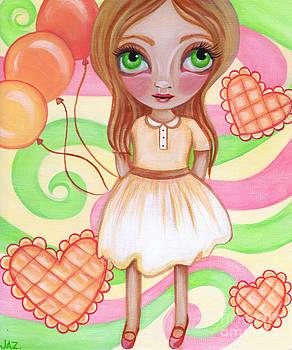 Balloon Girl by Jaz Higgins