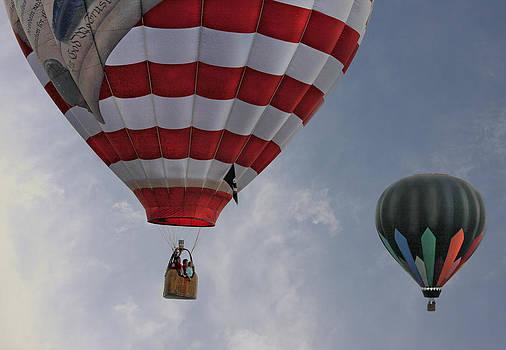 Balloons Over Readington by Pat Abbott