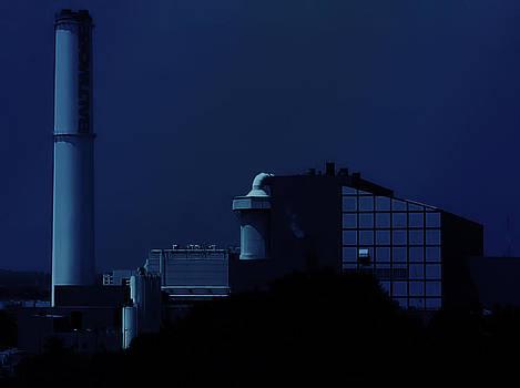 Baltimore At Night by Walt Stoneburner