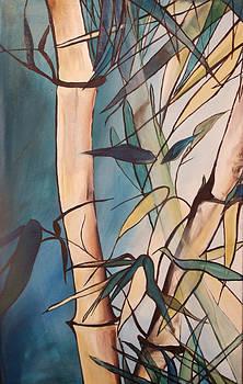 Bamboo 1 by Karen Hurst