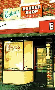Barber Shop by Sheri Parris