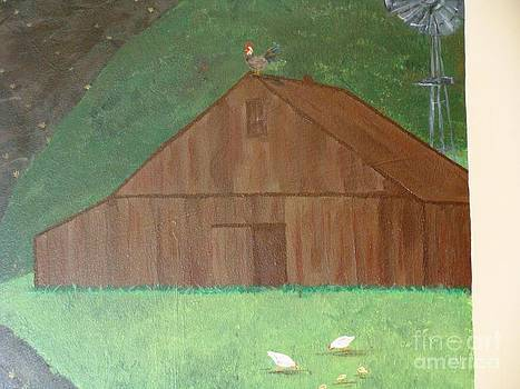 Barn and Chics by Erin Mikels