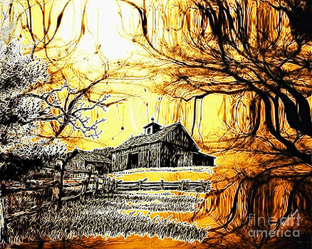 Cheryl Young - Barn Out Back
