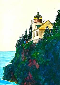 Frank SantAgata - Bass Harbor Light