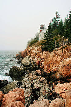Bass Harbor Light by Mary Hershberger