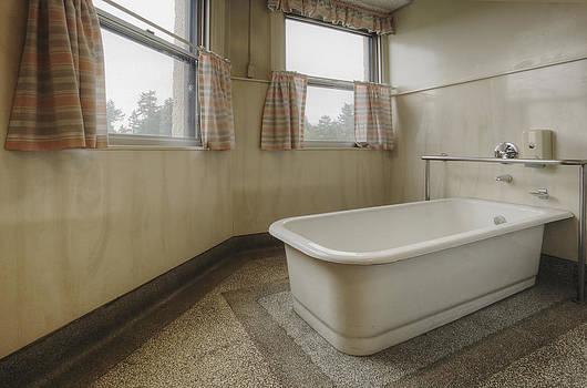 Bath Tub In A Residental Home. An Old by Douglas Orton