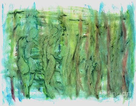 Bathers by Linda May Jones