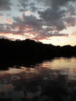 Batterson Park Pond Sunset by Kira Varszegi
