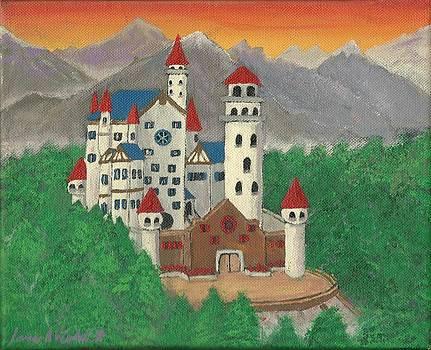 Bavarian Castle by James Violett II