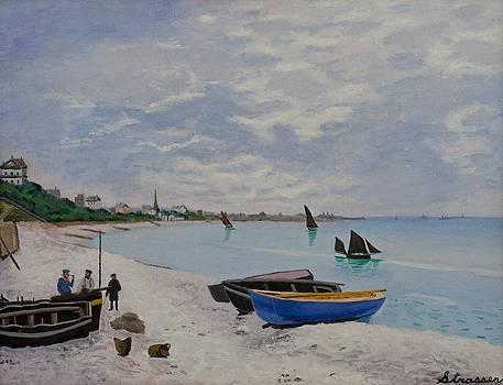 Bay of Monet by Frank Strasser