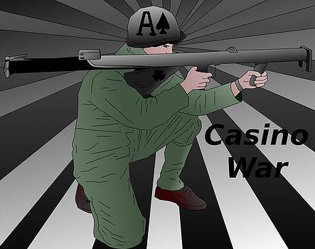 Bazooka Casino War  by Casino Artist