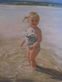Beach Baby by Sheila Gunter