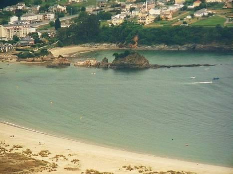 Beach In Galicia by Jenny Senra Pampin