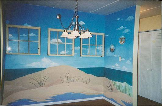 Anna Villarreal Garbis - Beach Mural
