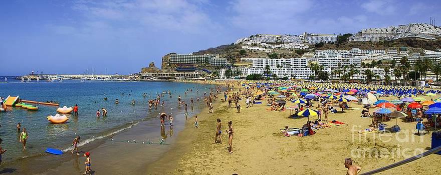 Beach Panorama by Alfredo Rodriguez