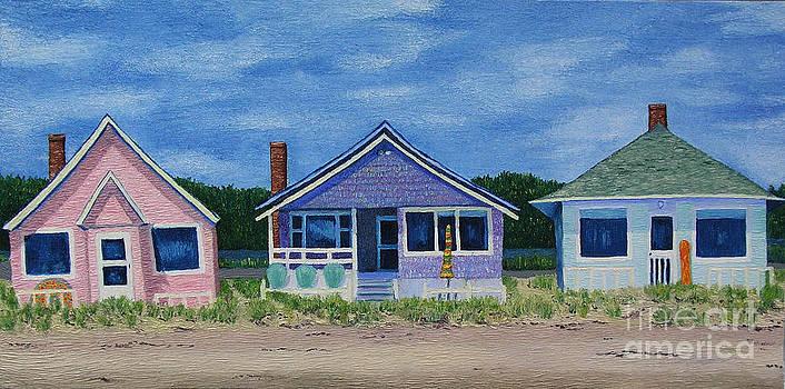 Beach Trio by Barbara Nolan