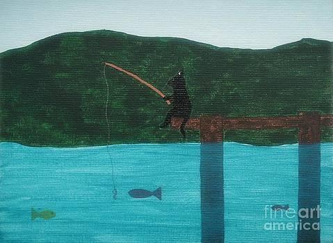 Bean Goes Fishing by Rachel Dunkin