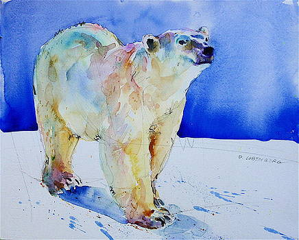 Bear on Ice by David Lobenberg