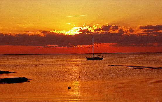 Beautiful Sunset by Janet G T