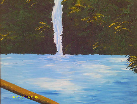 Beautiful Waterfall by Juliet Nidhan
