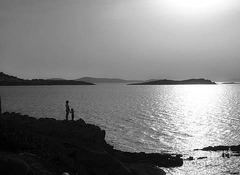 Beauty of Mykonos by Leslie Leda