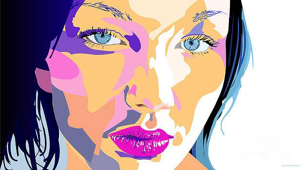 Beauty portrait 2 by Jose Miguel Barrionuevo