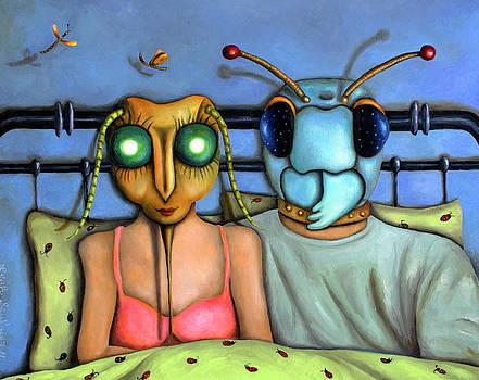 Leah Saulnier The Painting Maniac - Bed Bugs