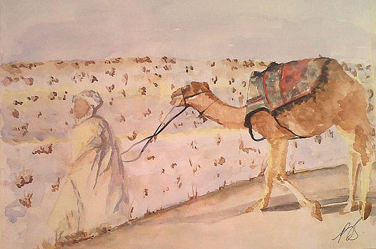 Bedouin I by Paula Steffensen