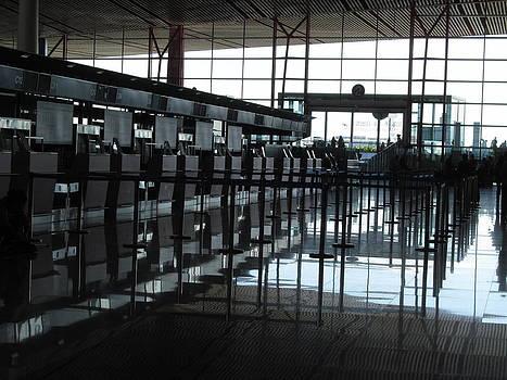 Alfred Ng - Beijing Airport interior
