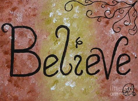 Believe by Dawn Plyler