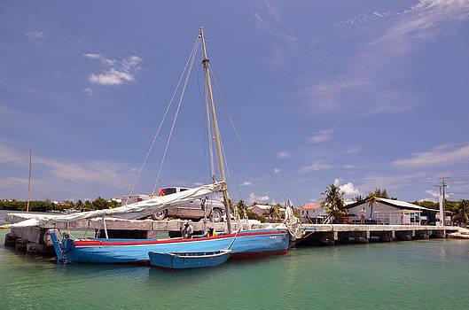 Belize Sailor by Ken  Collette