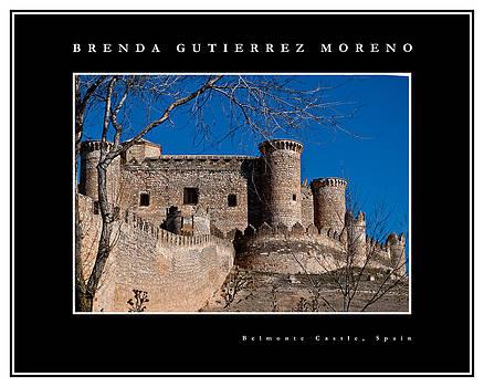 Belmonte Castle black border by Brenda Gutierrez Moreno