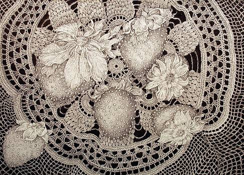 Berries And Lace by Jennifer Kirton