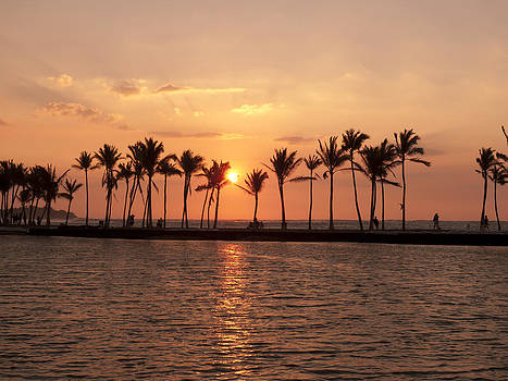 Big Island Sunset by Jen Morrison