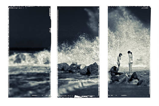 Silvia Ganora - Big wave triptych